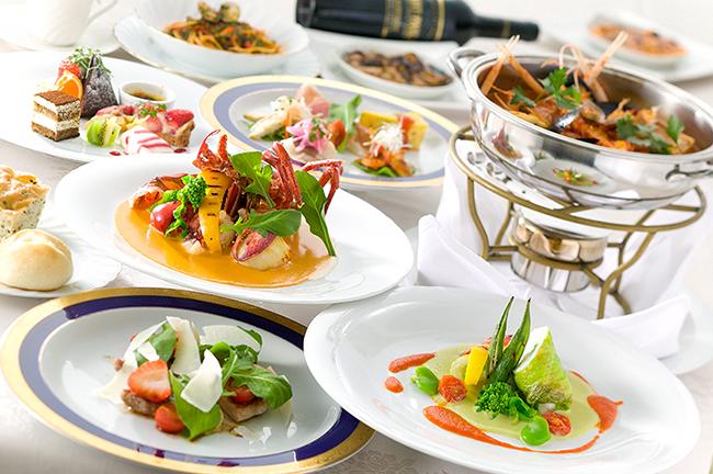 【9月のおすすめディナーコース】海の幸の煮込み~ブイヤベース~、海の幸のグラタン~ウニの香り~が大人気!前菜からメイン、デザートとスペシャル感溢れるディナーです。